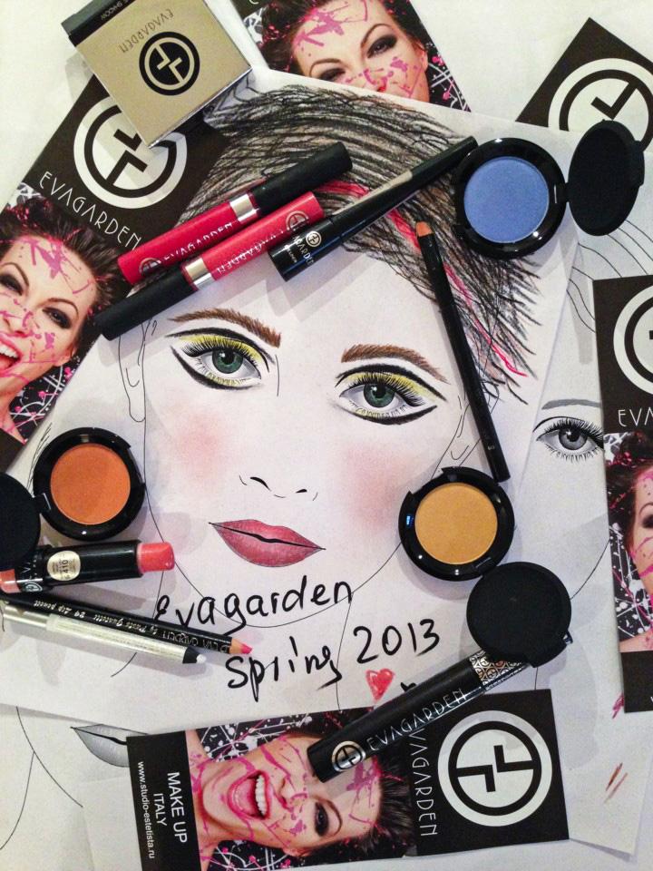 Мастер-класс Trends Spring Evagarden 2013